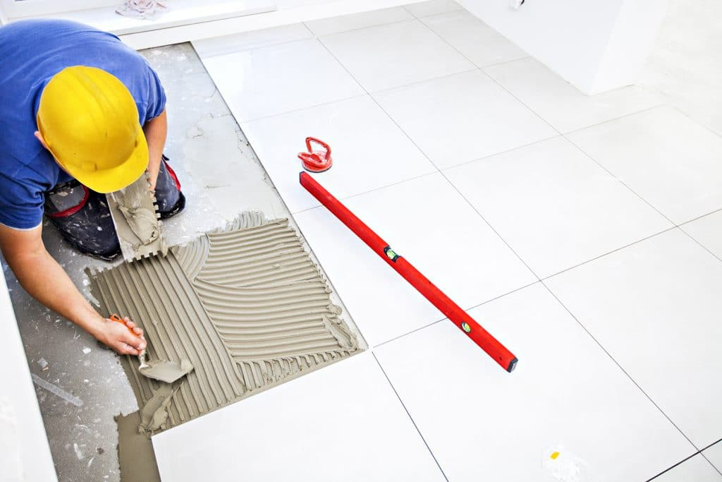 bathroom tiling service